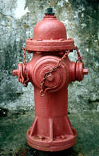 Red Hydrant