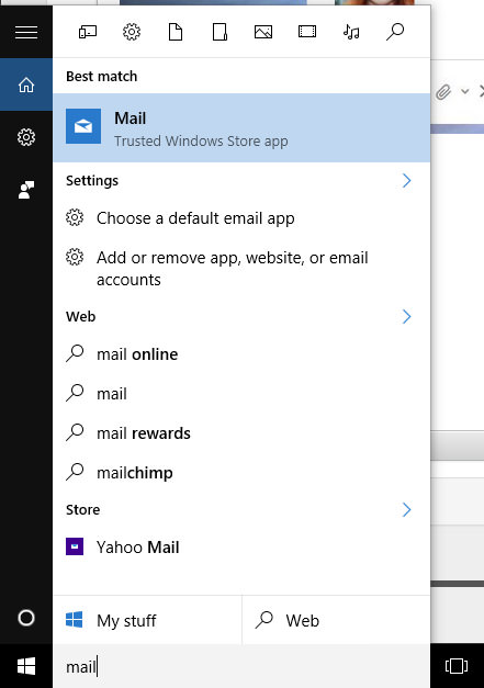Window Live Mail App