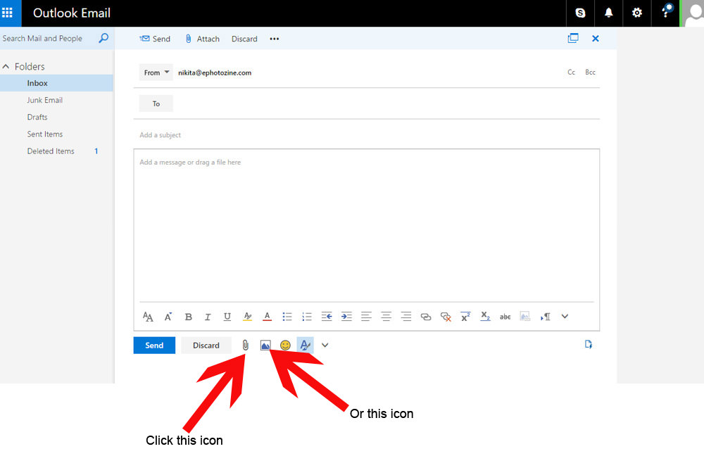 How To Send A Photo As An Email Attachment On Windows, Mac