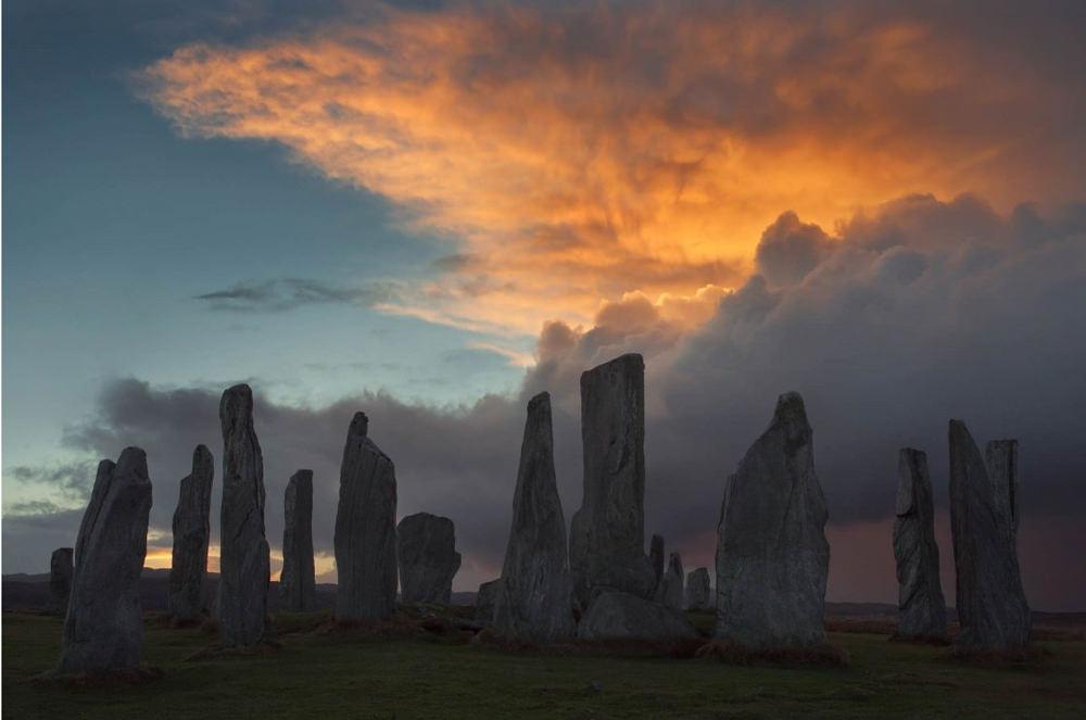 Callinish Stone Circle in Callanais