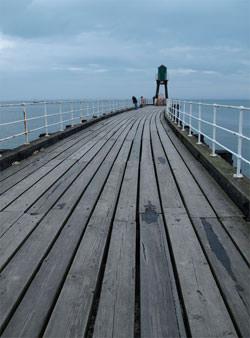 Straight horizon