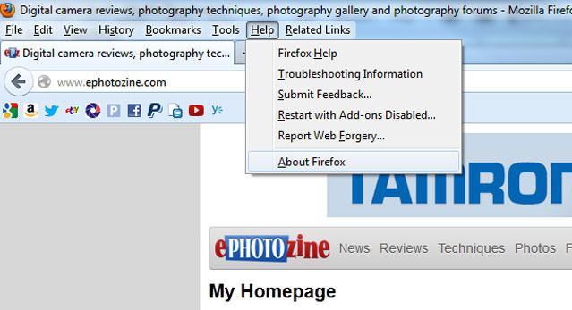 Mozilla Firefox Screenshot