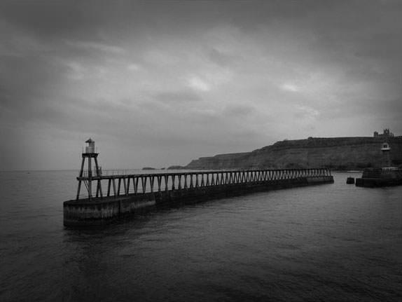 Black & White Shot With Vignette