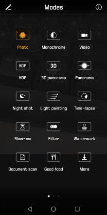 Huawei Mate 10 Pro Camera Shooting Modes