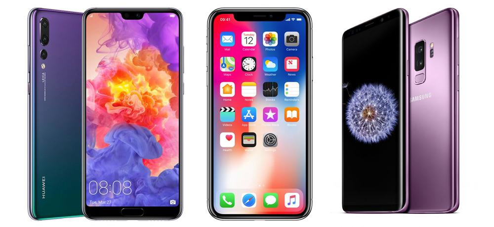 IPHONE X VS SAMSUNG S9 PLUS