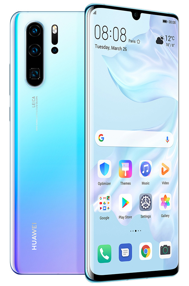 Huawei P30 Pro Front Back