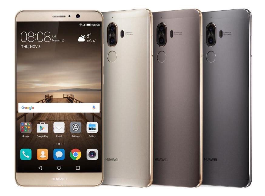 Huawei Mate 9 Comparison
