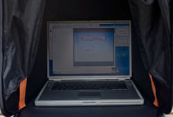 iCap laptop tent