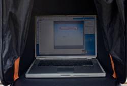 iCap laptop tent