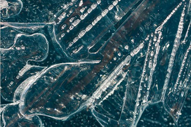 Canada, Abraham Lake detail