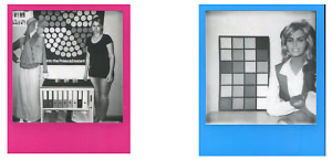 Impossible Black And White Hard Colour Frame Film