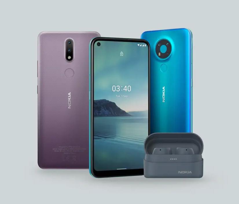 Nokia 2.4 and 3.4 smartphones