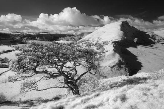 Infrared shot taken in the Peak District