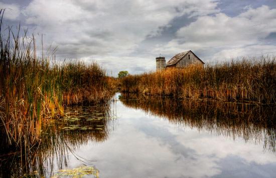 HDR landscape shot