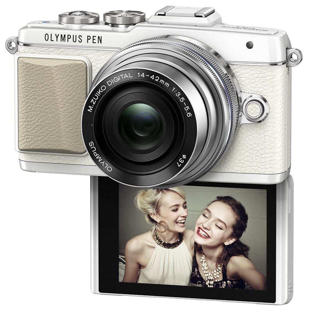 PEN E PL7 EZ M1442EZ White Silver  Product 010 V2