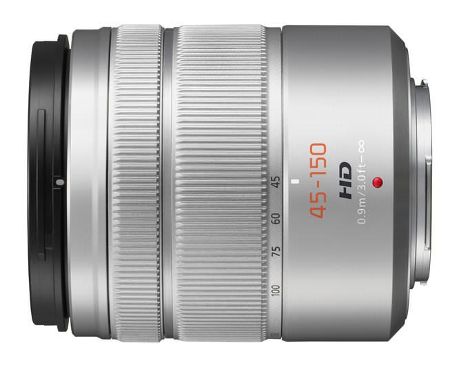 Panasonic Lumix G Vario H FS 45150s Side