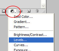 Levels Adjustment Layer