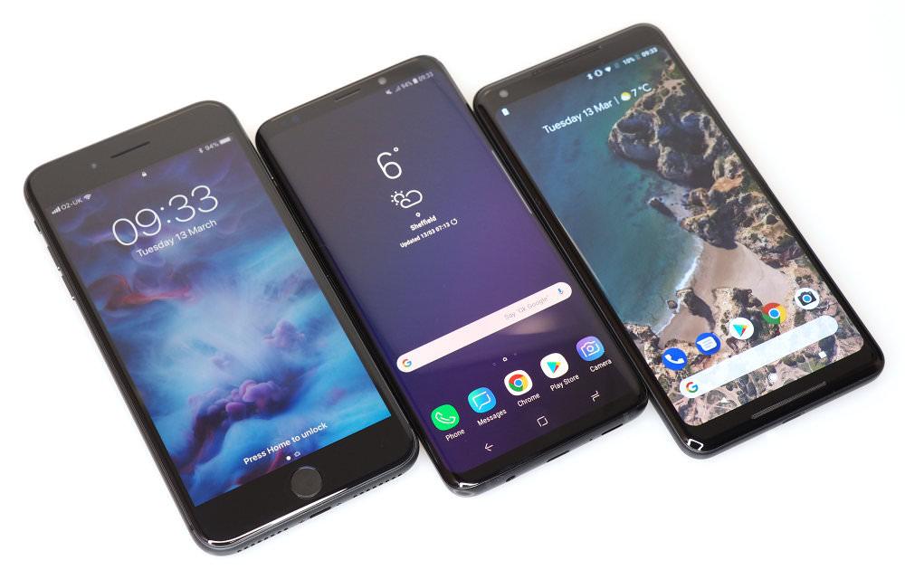 Iphone8plus Vs Samsungs9plus Vs Pixel2xl (3)