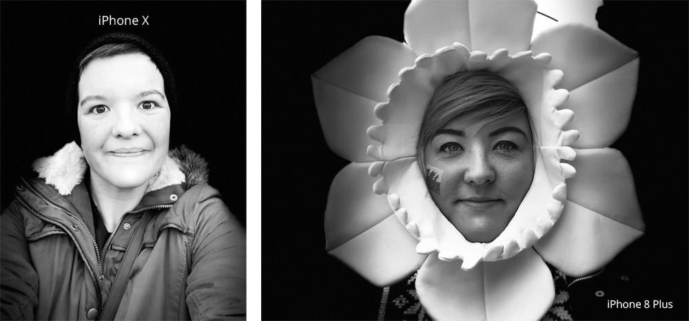 iPhone X vs iPhone 8 Plus Portrait Mode
