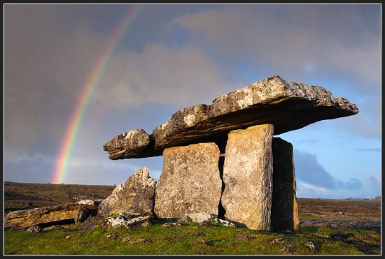 Ireland Dolmen poulnabr