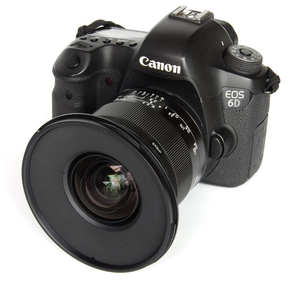 Irix 15mm F2,4 Blackstone On Canon 6D