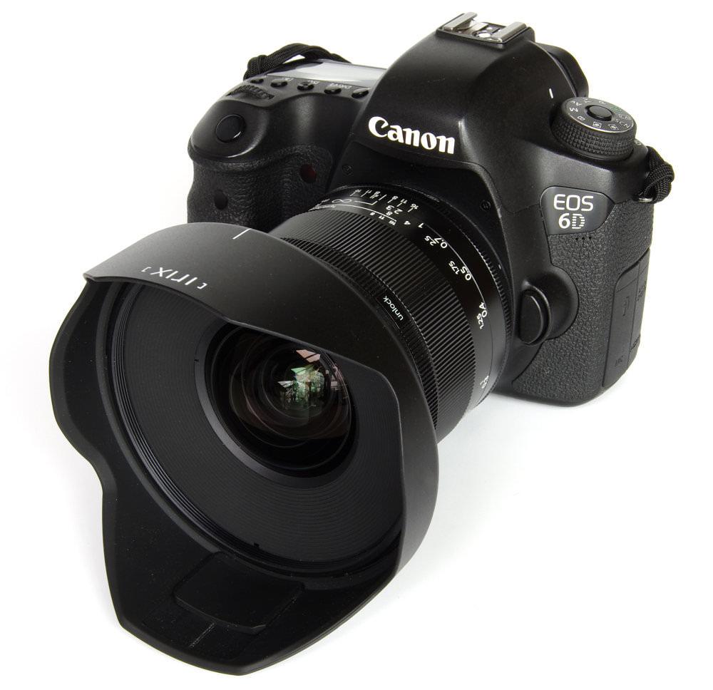Irix 15mm F2,4 Blackstone With Hood On Canon 6D
