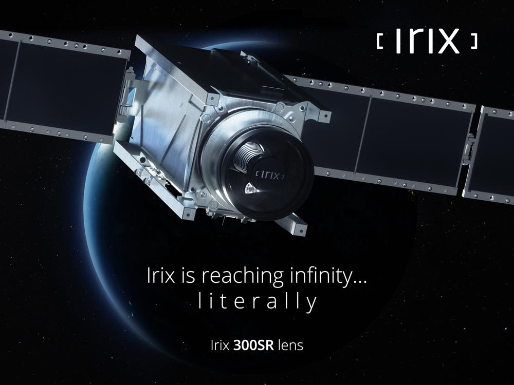 Irix 300SR space lens