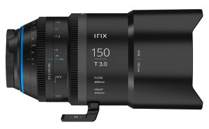 Irix Cine 150mm T3.0 Macro 1:1 Announced