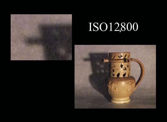 Photo taken at ISO12800