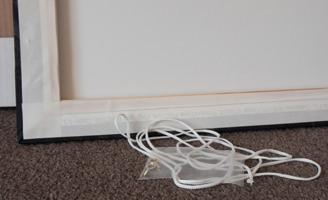 canvas print hanging cord