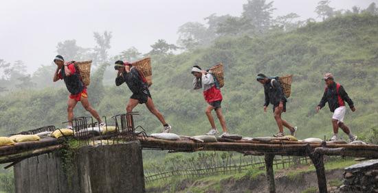 Gurkha training Nepal