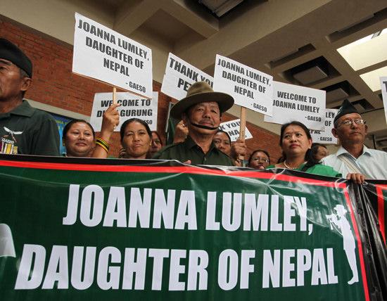 Joanna Lumley Nepal