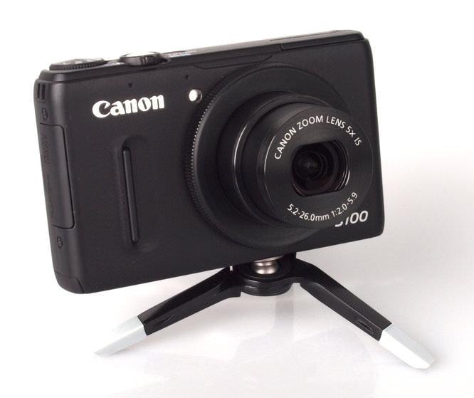 On camera spread
