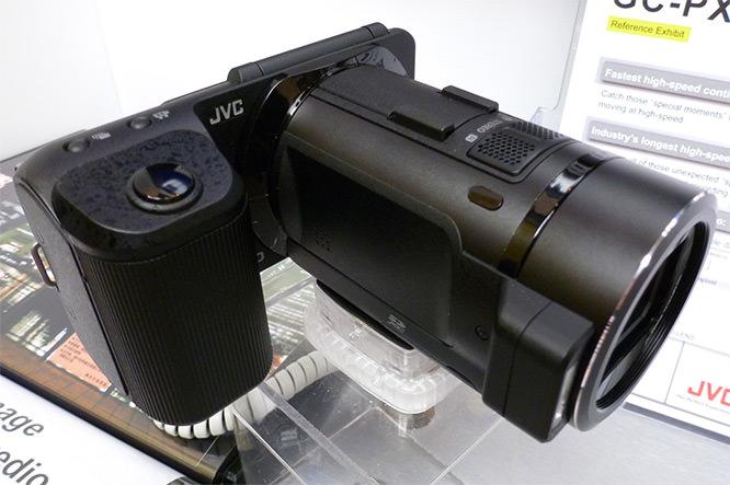 JVC FalconBrid GC-PX1 HD Hybrid Camcorder Black