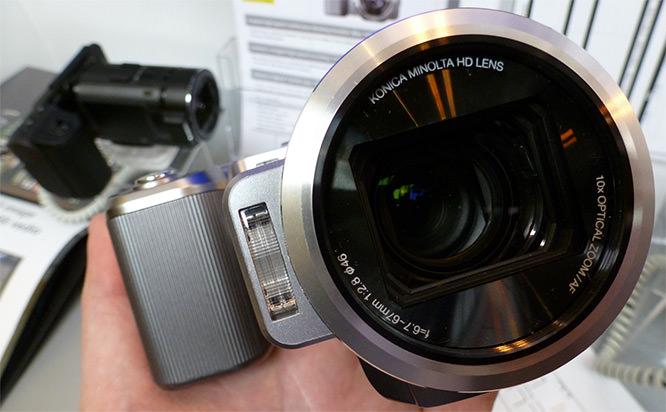 JVC FalconBrid GC-PX1 HD Hybrid Camcorder Silver