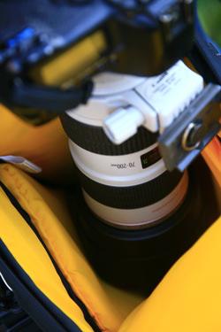 Kata Grip 18 DL Holster Lens Hood On
