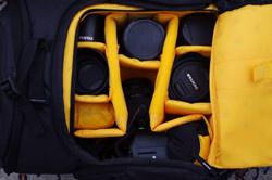 Kata OWL-272 DL D-Light Backpack lens compartments