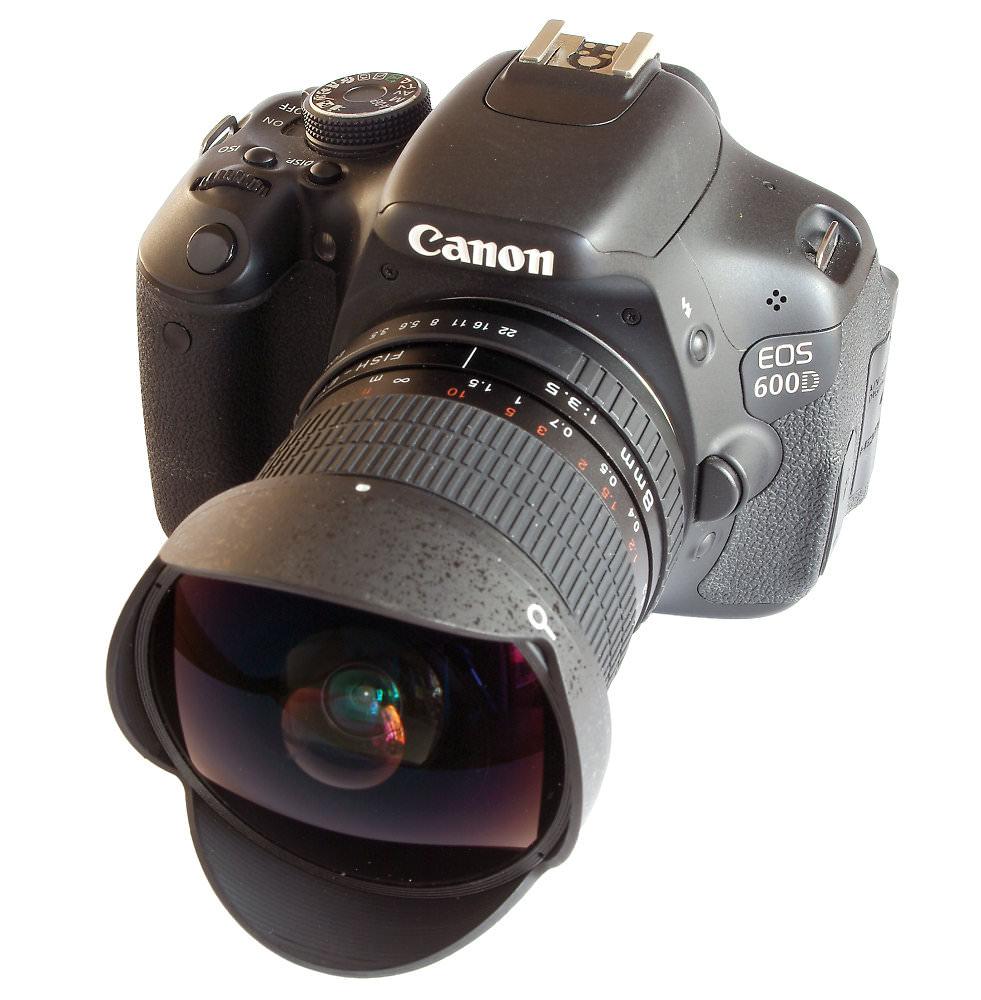 Kelda 8mm F3,5 On Canon 600D