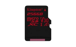 Kingston Release A 256GB microSD Memory Card Ideal For Smartphones