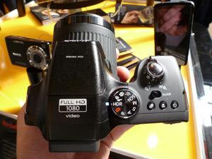 Kodak Easyshare Max Z990 Top