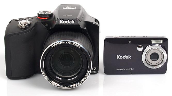 Kodak Easyshare Max Z990 vs Kodak Easyshare Mini M200