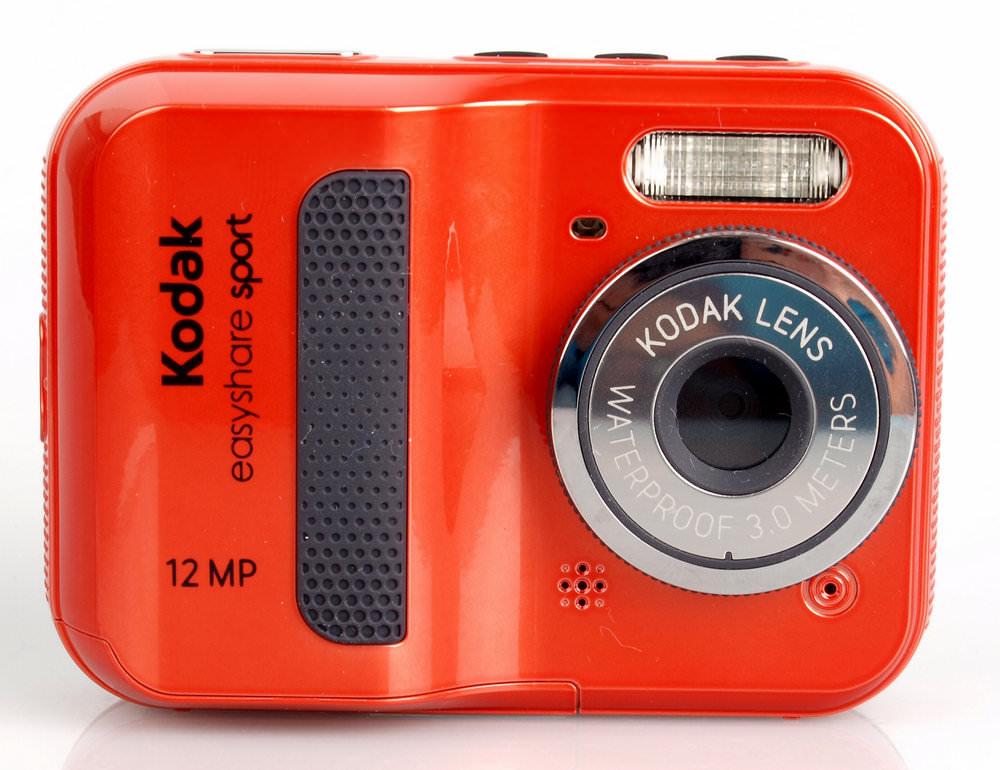 Kodak Easyshare Sport C123 Digital Compact Camera Review ...