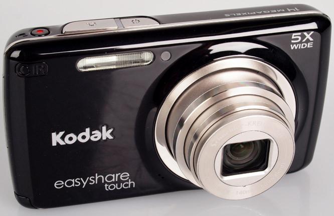 Kodak Easyshare Touch M577 front lens