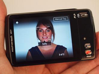 Kodak Easyshare Touch M577 tagged portrait image