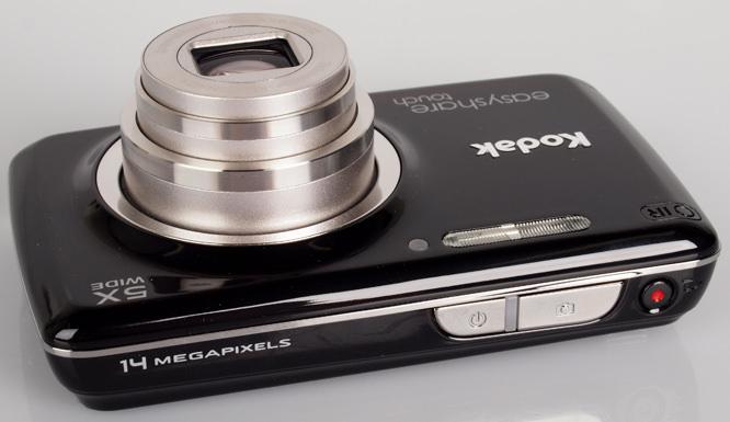 Kodak Easyshare Touch M577 top
