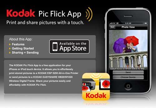 Kodak Pic Flick App