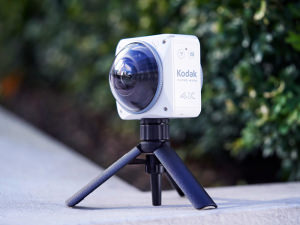 Kodak Pixpro 4KVR360 Action Cam Finally Available