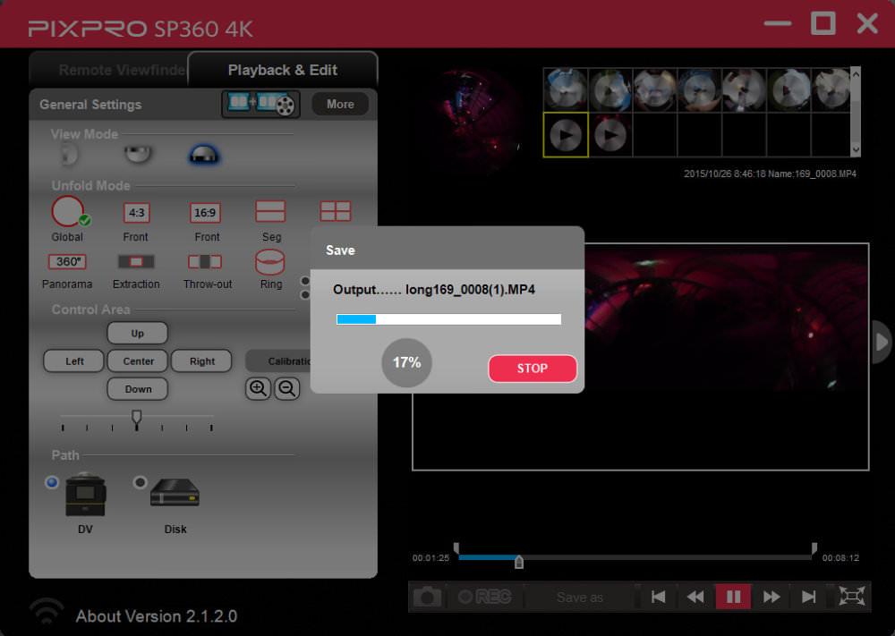 Kodak Pixpro Output