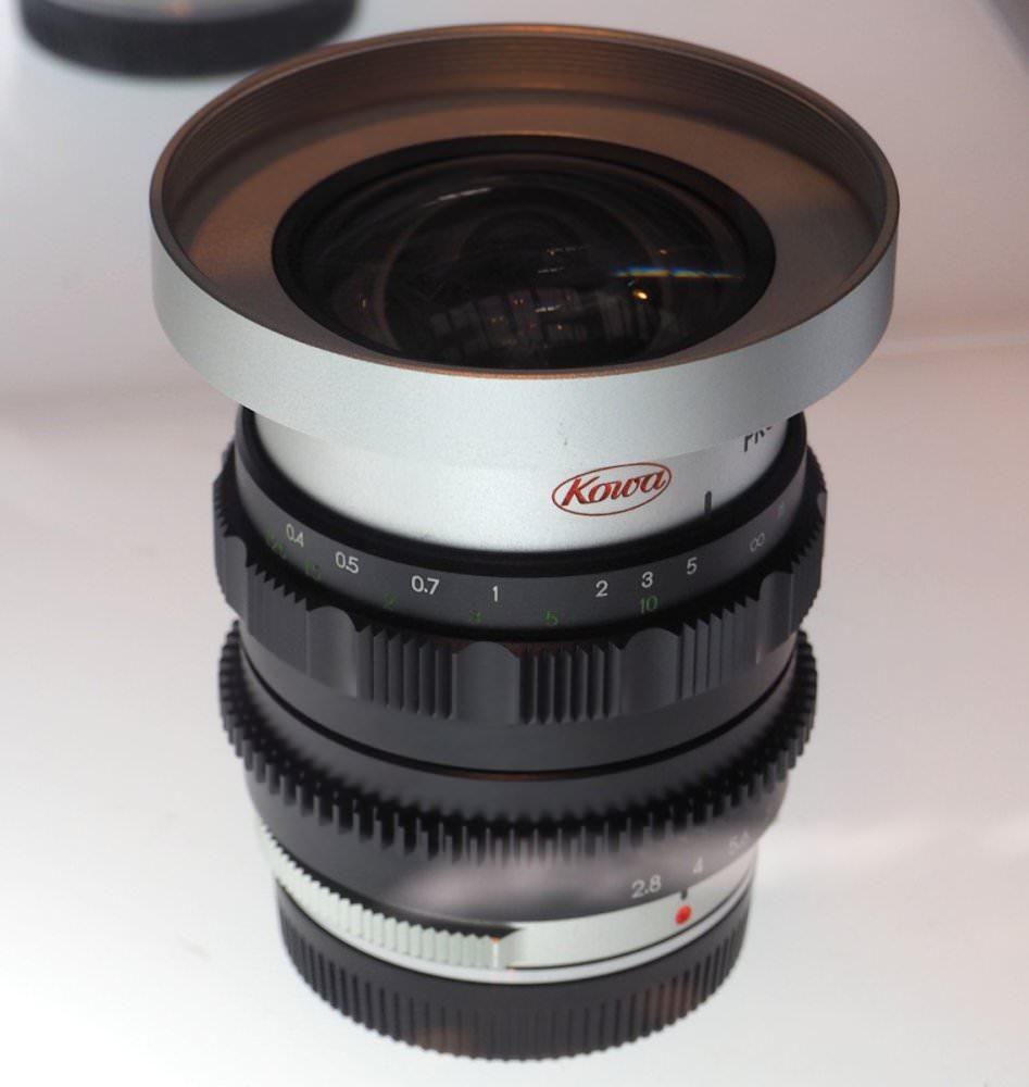 Kowa Prominar 8.5mm f/2.8 Silver (Custom)