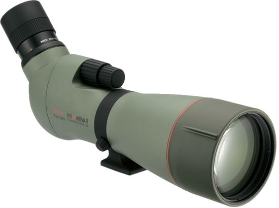 Kowa TSN 883 Prominar Fluorite Crystal Angled Spotting Scope.